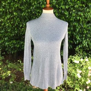 Opening Ceremony Gray Turtleneck Open Back Sweater